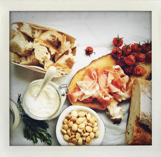 Fluffig ostkräm